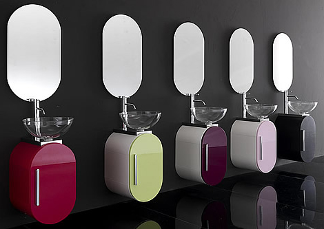 lasa bathroom furniture sets Bathroom Furniture Sets   new color set Flux by Lasa Idea
