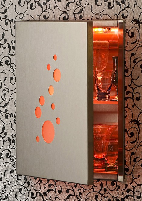 lasertron led cabinets Lighted Medicine Cabinets   Designer LED Lighted Cabinet Range by Lasertron
