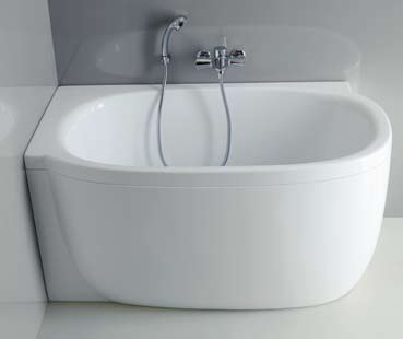 Compact Bathroom Suites Compact Bathtubs from Laufen new Mimo