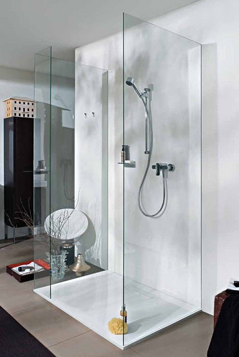 Modern bathrooms new lb3 bathroom designs by laufen for Latest bathroom designs