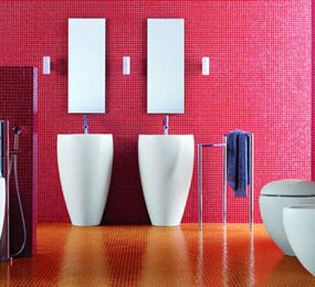 Laufen Bathroom – IL Bagno Alessi One bathroom