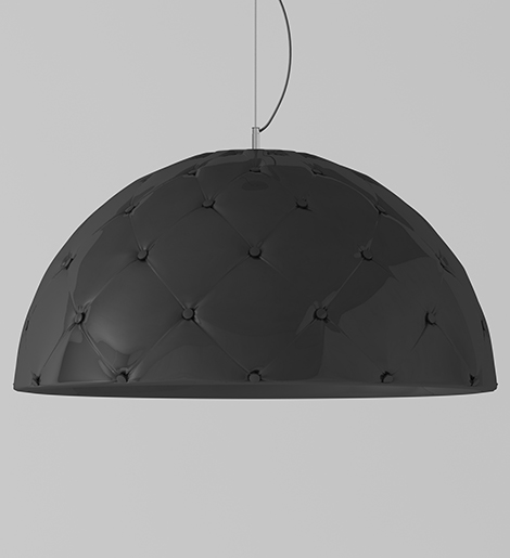 Leather Lamp Shades Contemporary Design Enrico Zanolla 3 Jpg