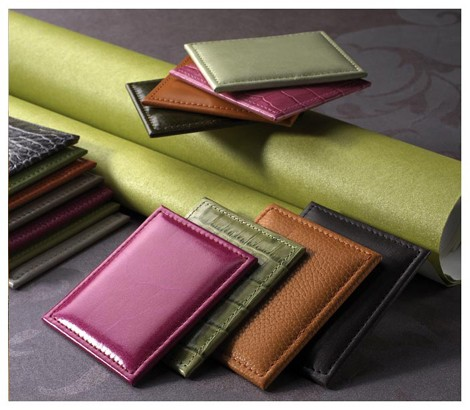 Leather Panels for Walls - Leather Tiles from Cuir au Carre