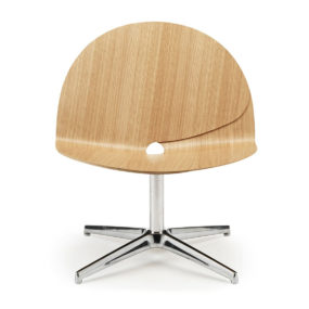 Leaves Inspired Plywood Chair Biloba by Stouby