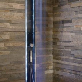 LED Lighted Shower Column by Megius – Waterwall