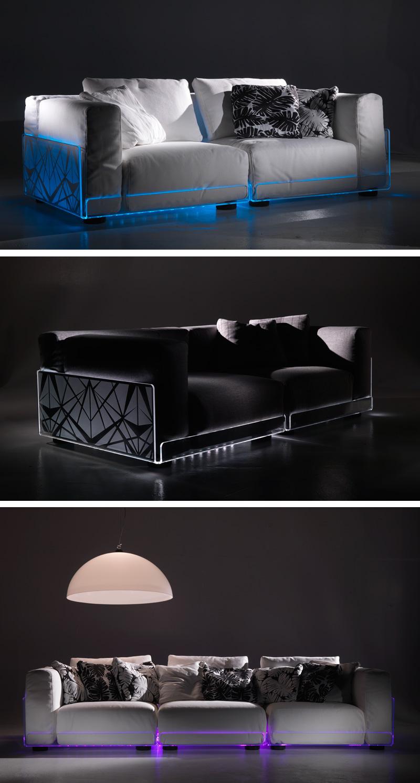 بالريموت تقدرى تغير لون كنبتك led-lighted-sofa-col