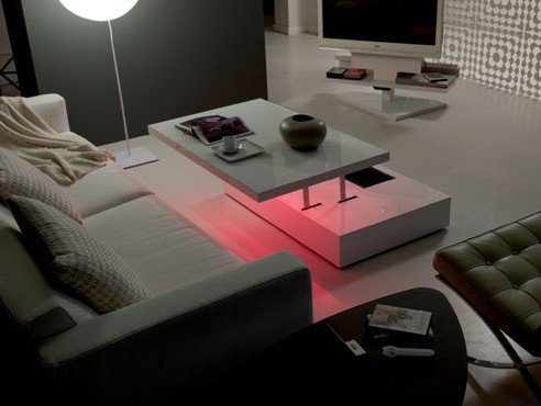led lighted tables ozzio e motion flat 3 LED Lighted Tables by Ozzio   LED Lit Tables e Motion and Flat