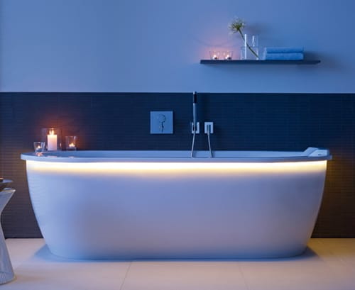 led lighted whirltub darling new duravit 1