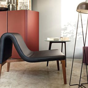 Leather Deep Chairs by Lema Mobili – Jean Chair