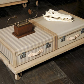 Vintage Luggage Furniture by Emmanuelle Legavre