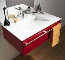 lido majik bathroom sink Contemporary bathroom cabinet from Lido   the Majik modular bathroom furniture