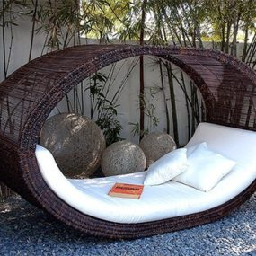 Outdoor Daybed by Lifeshop Collection – weave daybeds, asian inspired