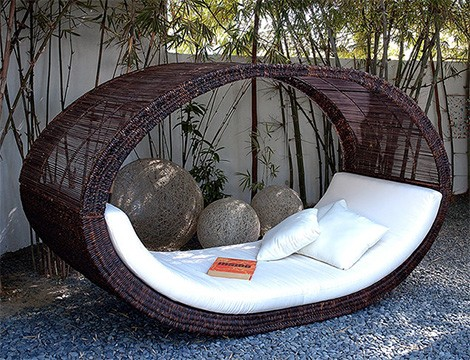 Outdoor Daybed By Lifeshop Collection Weave Daybeds Asian Inspired
