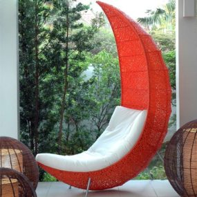 Patio Chaise Lounge Chair by Lifeshop Collection
