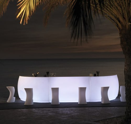 lighted outdoor bar vondom fiesta 2 Lighted Outdoor bar by Vondom – Fiesta