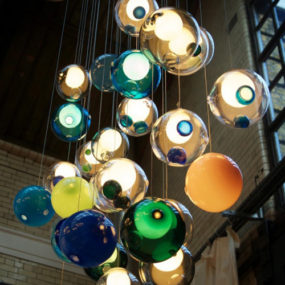 Glass Ball Chandeliers – Wonderfully Magical Lighting by Bocci