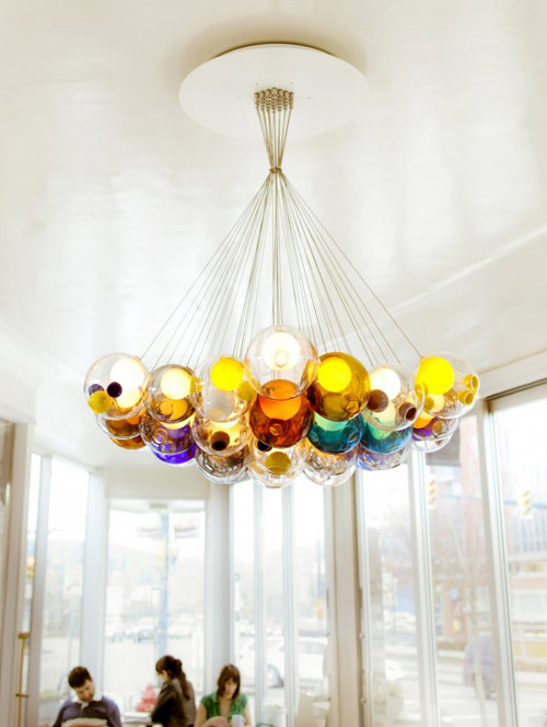 Glass ball chandeliers wonderfully magical lighting by bocci lighting bocci 4 glass ball chandeliers wonderfully magical lighting by bocci mozeypictures Image collections