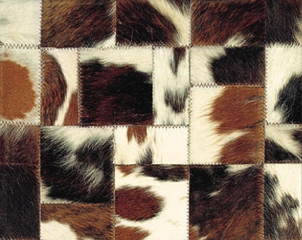 limited edition leather hairy rug normande Natural Hairy Leather rug by Limited Edition
