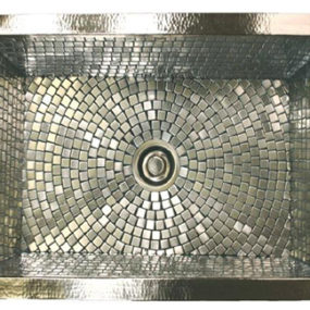 Decorative Sink from Linkasink – new mosaic sinks