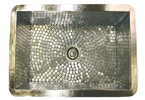 linkasinkkitchensink Decorative Sink from Linkasink   new mosaic sinks