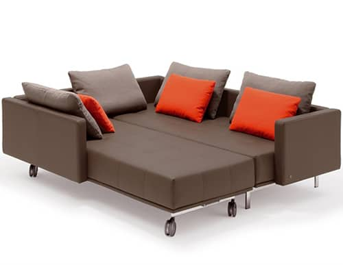 lounge sofa bed by rolf benz centro. Black Bedroom Furniture Sets. Home Design Ideas