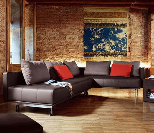 lounge sofa rolf benz centro 2 Lounge Sofa Bed by Rolf Benz   Centro