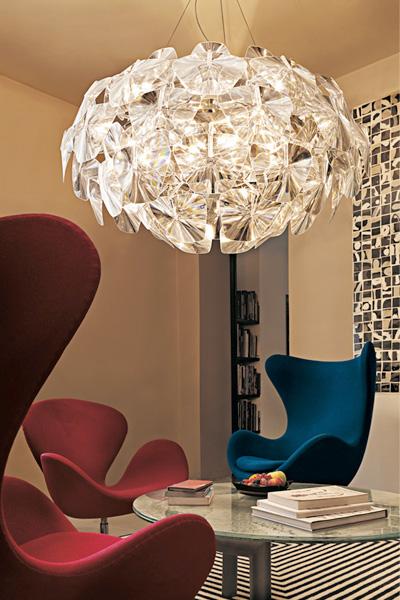 luce plan modern chandelier lighting hope 1 Modern Chandelier Lighting   new Hope chandelier by Luceplan