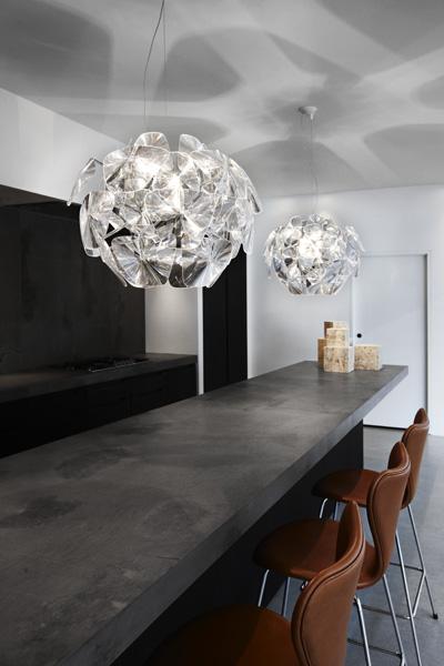 luce plan modern chandelier lighting hope 2 Modern Chandelier Lighting   new Hope chandelier by Luceplan