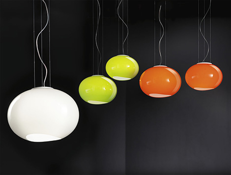 lucente cool glass lamps noa 2 Cool Glass Lamps for Modern Homes by Lucente   new Noa series