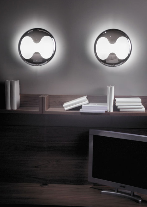 lucente visual impact lighting eight 2 Great Visual Impact Lighting   new oversized lighting series Eight by Lucente