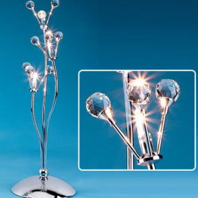 Crystal Ball Table Lamp by LumiSource, Inc