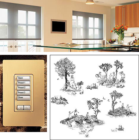 lutron shading solutions sivoia qed Lutron Shading Solutions   Electronic Roller Shades