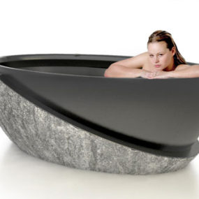 Stone Tub Roma – luxury stone tubs by D'Vontz