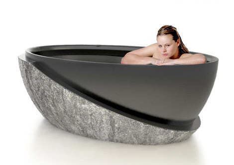 luxury stone tub roma dvontz 1 Stone Tub Roma   luxury stone tubs by DVontz