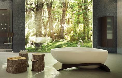 maax tub on legs 2 Elegant Bathtubs   Roman Bathtub and Tub On Legs by Maax