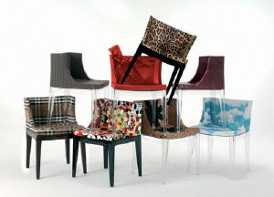 mademoiselle chairs philippe starck Mademoiselle Chair Dolce & Gabbana Philippe Starck Kartell