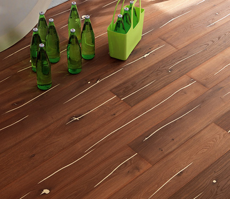 Decorative Wood Flooring engineered wood floors with cracks by Mafi