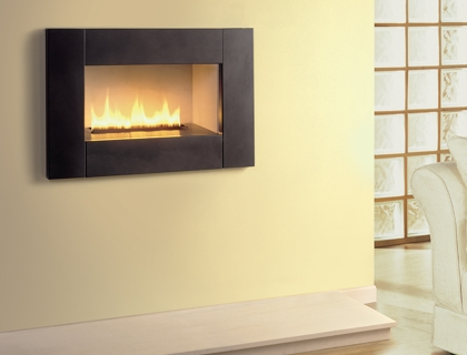 Hole-in-the-wall fireplace from Magiglo - the contemporary gas ...