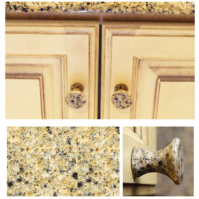 Natural Stone Knobs from Mainely Knobs