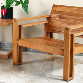 Outdoor Wood Furniture by Maku – the patio teak furniture