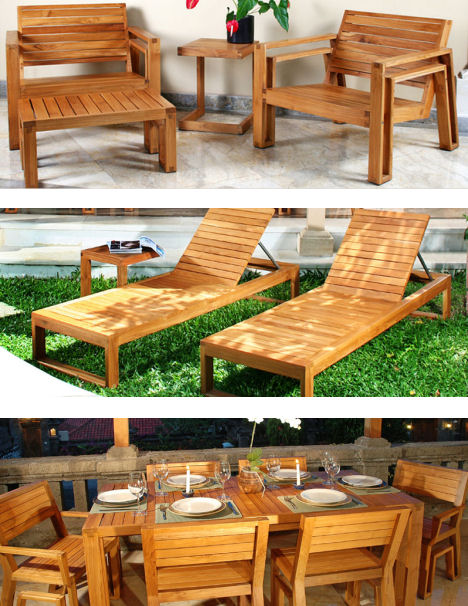 maku patio teak furniture Outdoor Wood Furniture by Maku   the patio teak furniture