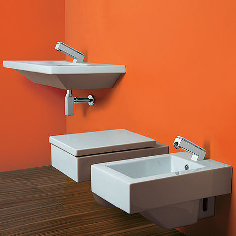 mamoli bathroom faucet euclide series Bathroom faucet from Mamoli by Alessandro Mendini   the new Euclide faucet series