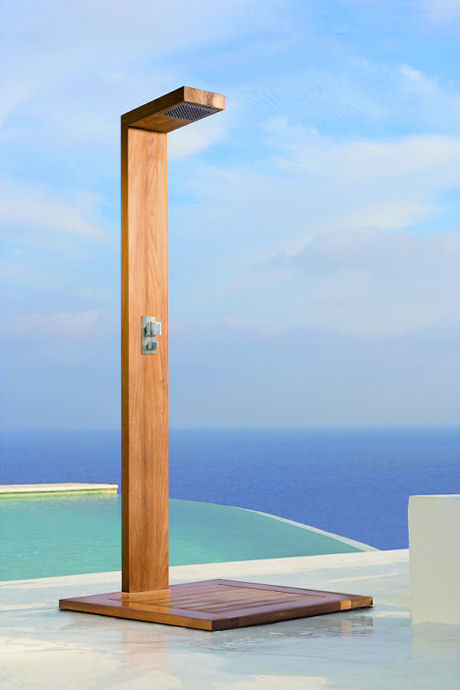 manutti siena cascade shower Contemporary Outdoor Shower by Manutti   the Siena Cascade Shower