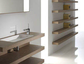 Modern Bathroom from Mapini – the Essencial bathroom furniture with sliding doors
