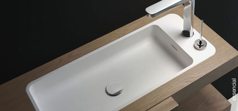 mapini essencial sink Modern Bathroom from Mapini   the Essencial bathroom furniture with sliding doors