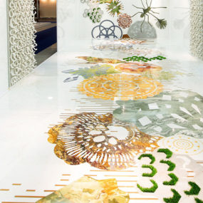 Marble Inlay Flooring and Walls by Italian Budri