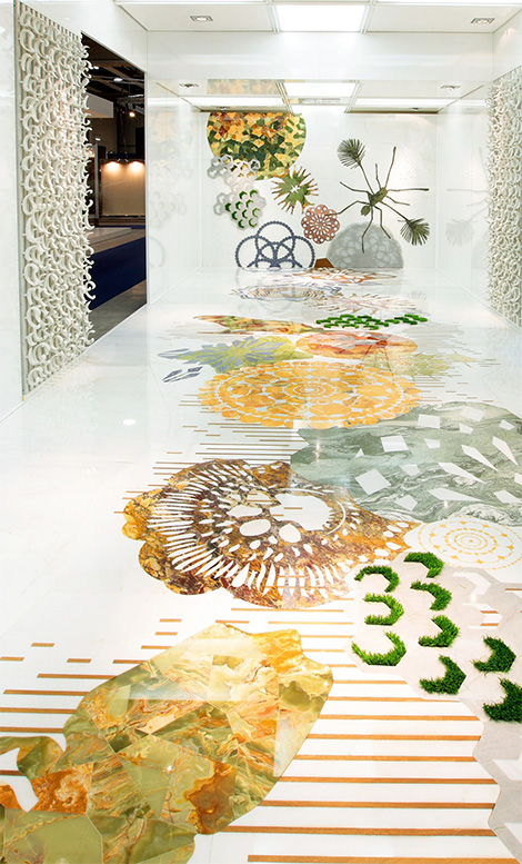 marble inlay flooring walls budri Marble Inlay Flooring and Walls by Italian Budri