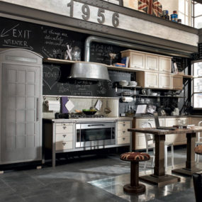 Vintage Style Kitchens by Marchi Group – 1956 and Loft