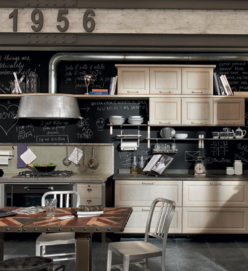 Vintage Style Kitchens by Marchi Group - 1956 and Loft