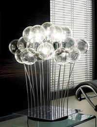 marco agnoli sphere table lamp thumb Marco Agnoli Sphere Table and Floor Lamps   clean contemporary